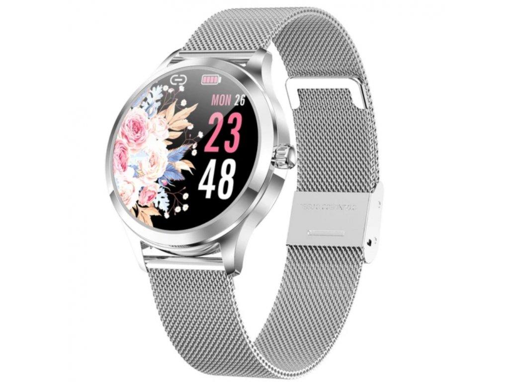 Luxusní dámské chytré hodinky LW7 (Barva Zlatá)
