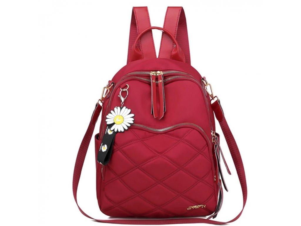 Originální prošívaný batoh-kabelka 2v1