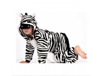 Dětský overal Zebra velikost 98-140 (Velikost 98)