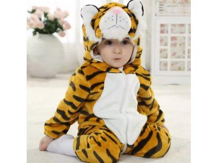 Overal pro miminko Tygr
