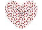 Nástěnné hodiny - Valentýn