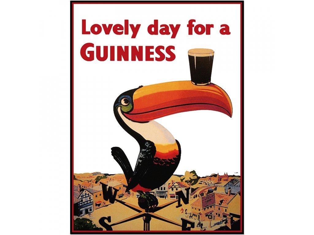 800 60x80cm Lovely day for a guinness tucan vintage advertising guinness poster