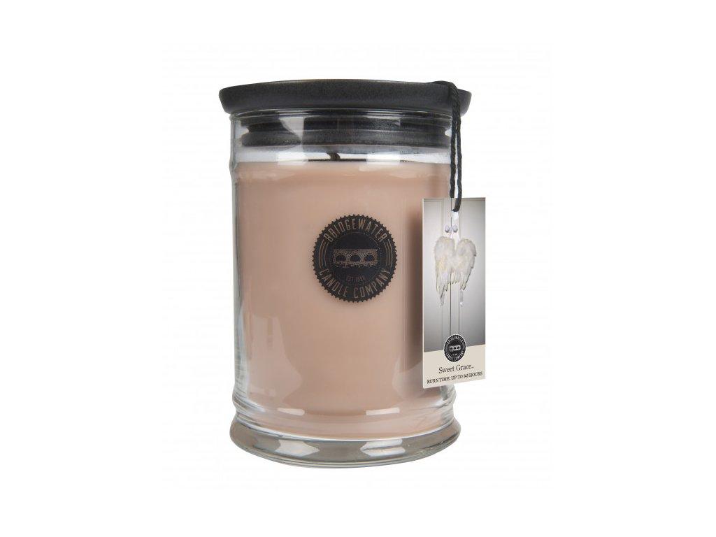 bw large jar candle bw033 sweet grace