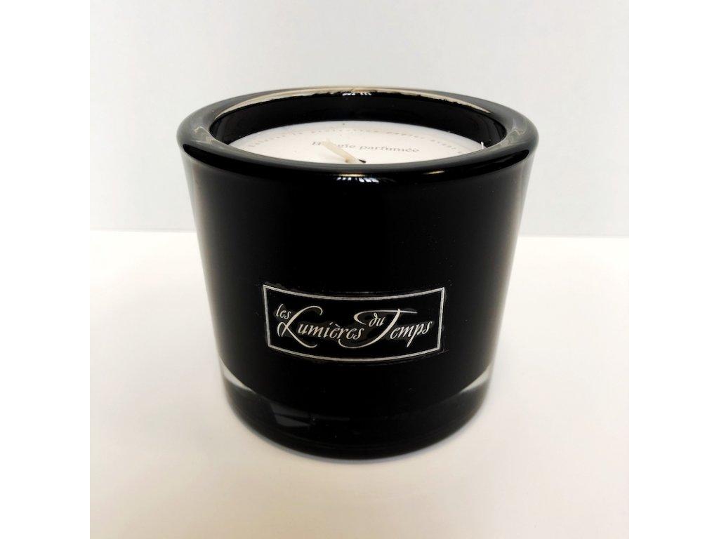 Vonná svíčka Les Lumières du Temps, vůně Luxe Noire