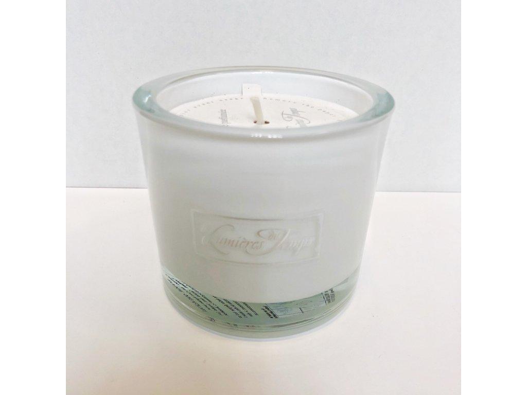 Vonná svíčka Les Lumières du Temps, vůně Luxe Blanche