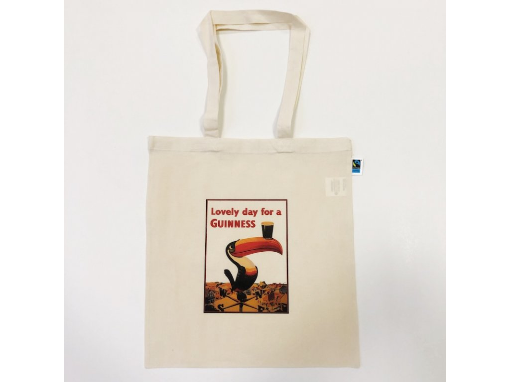 Fairtrade taška GUINNESS