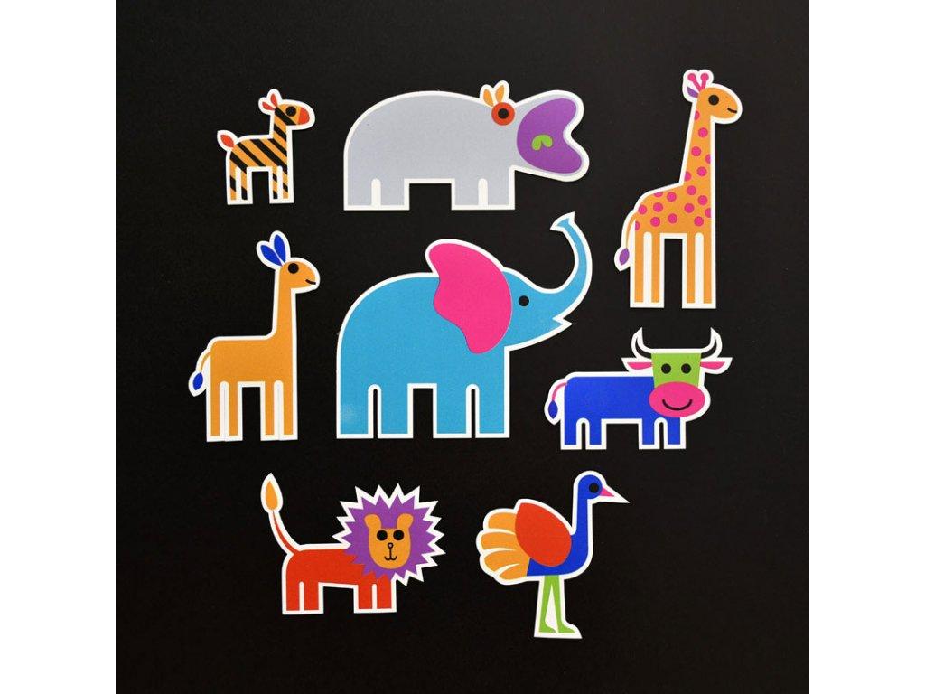 380 magnetky pro deti animals zvirata