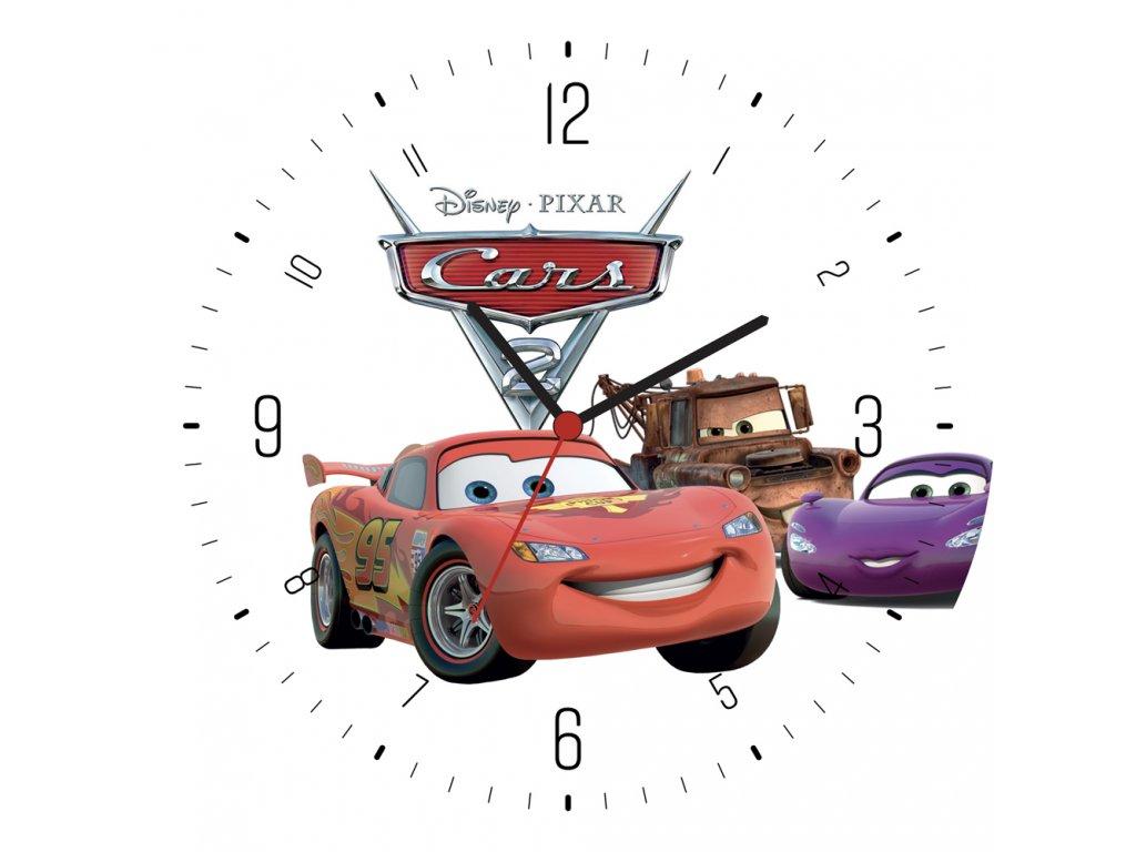 Z 018 AUTA tiskove hodiny31x31cm 1