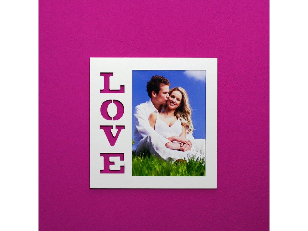Fotorámeček - LOVE