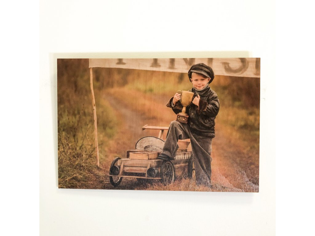 Obraz na dřevě - Small winner
