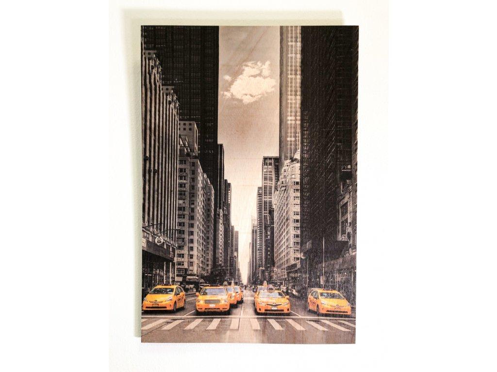 Obraz na dřevě - New York