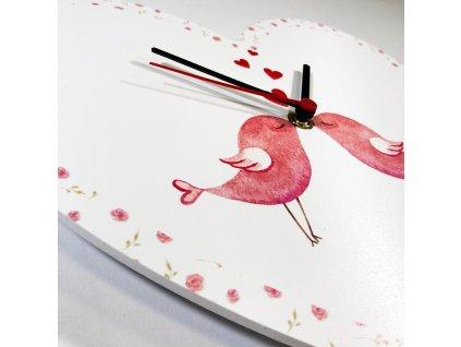 Nástěnné hodiny - LOVE I