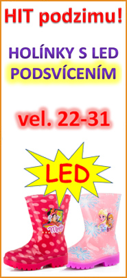 Holínky LED