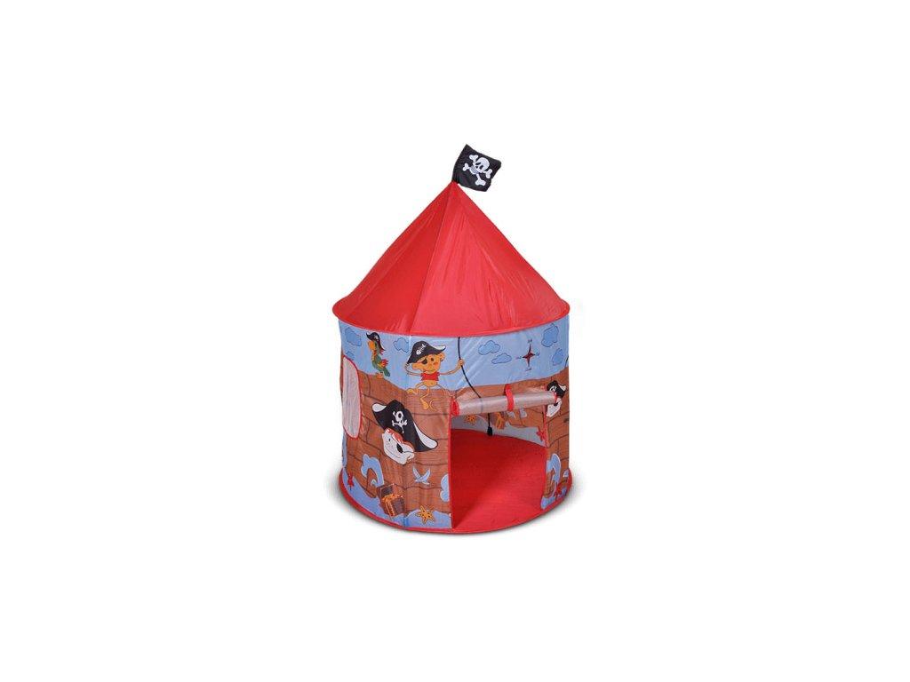 Dětský hrací stan pirát