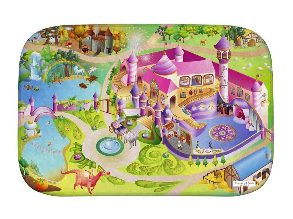 Hrací koberec Ultra Soft Zámek princezna