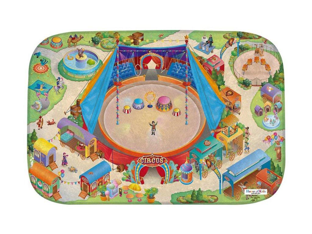 Hrací koberec Ultra Soft Cirkus