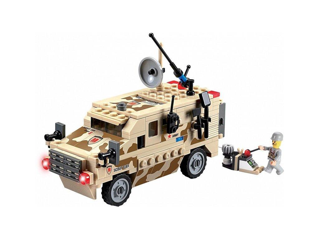 Stavebnice vojenské vozidlo