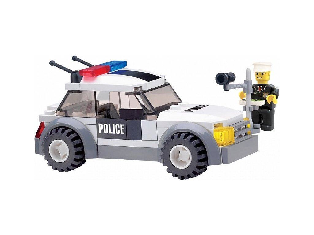 Stavebnice policejní kontrola Lego
