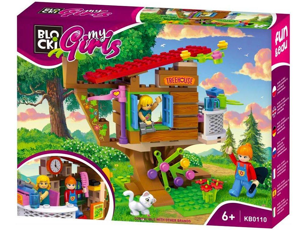 Stavebnice Lego Friends Domeček na stromě