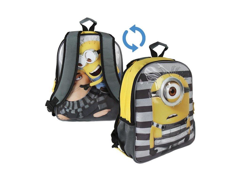 Školní batoh Mimoni oboustranný