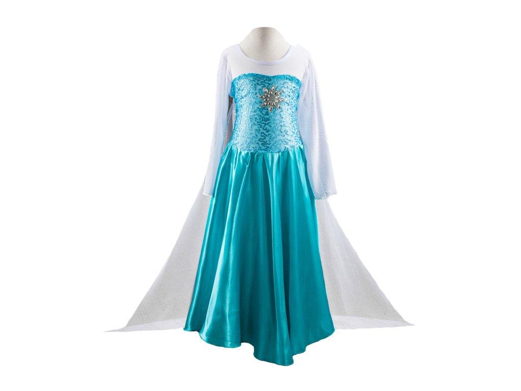 Kostým šaty Frozen Ledové království Elsa