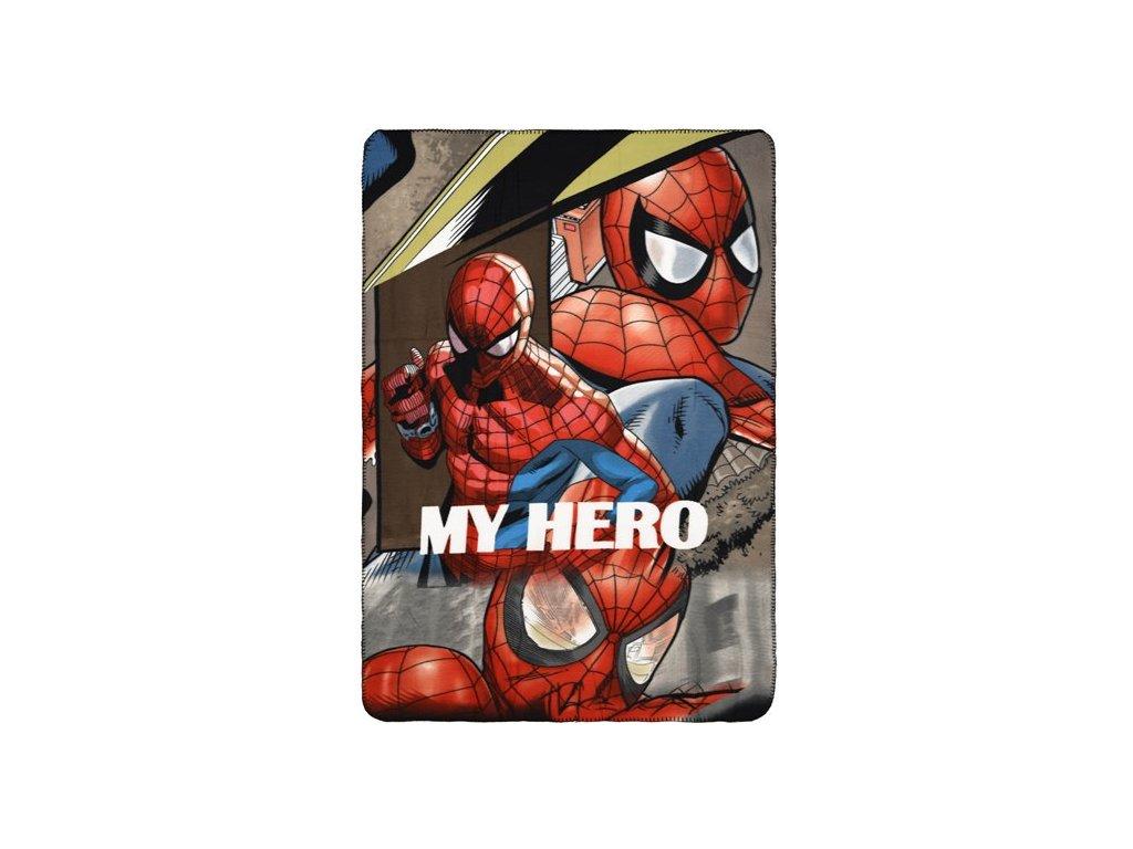 Fleece deka Spiderman