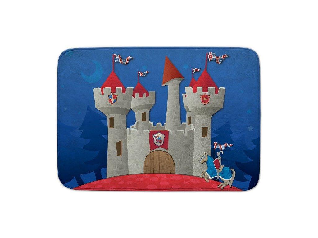 Dětský koberec Ultra Soft Rytířský hrad