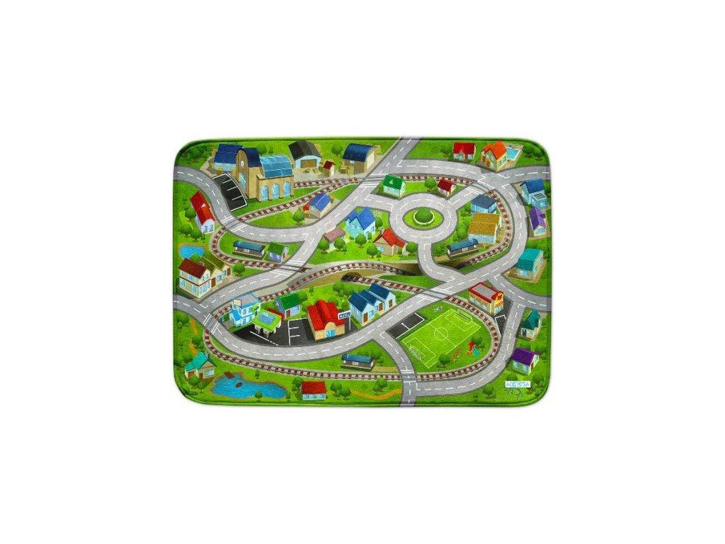 Hrací koberec Ultra Soft Železniční stanice