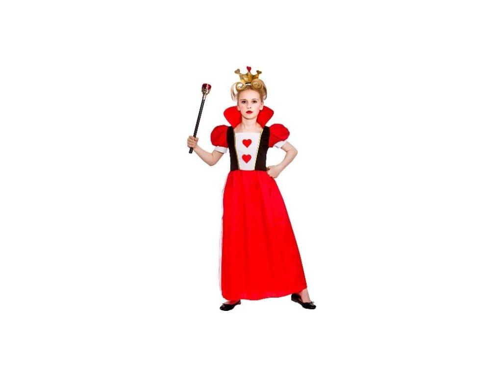 Dětský kostým královna