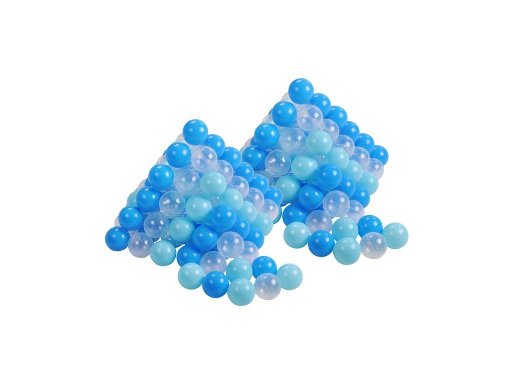 Plastové míčky modré