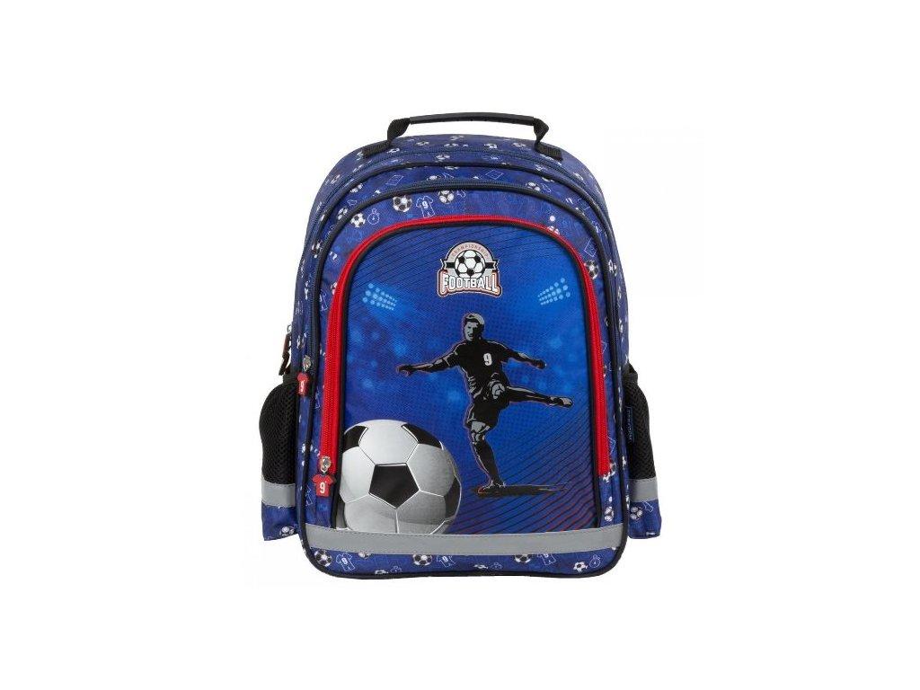 810c74366 Školní batoh Fotbal ergonomický 38cm modrý | SUPER-HRACKY.CZ