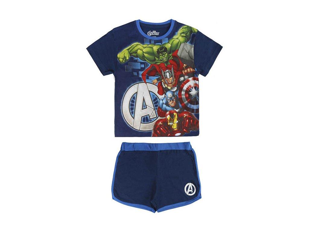 Dětský komplet Avengers tričko a kraťasy