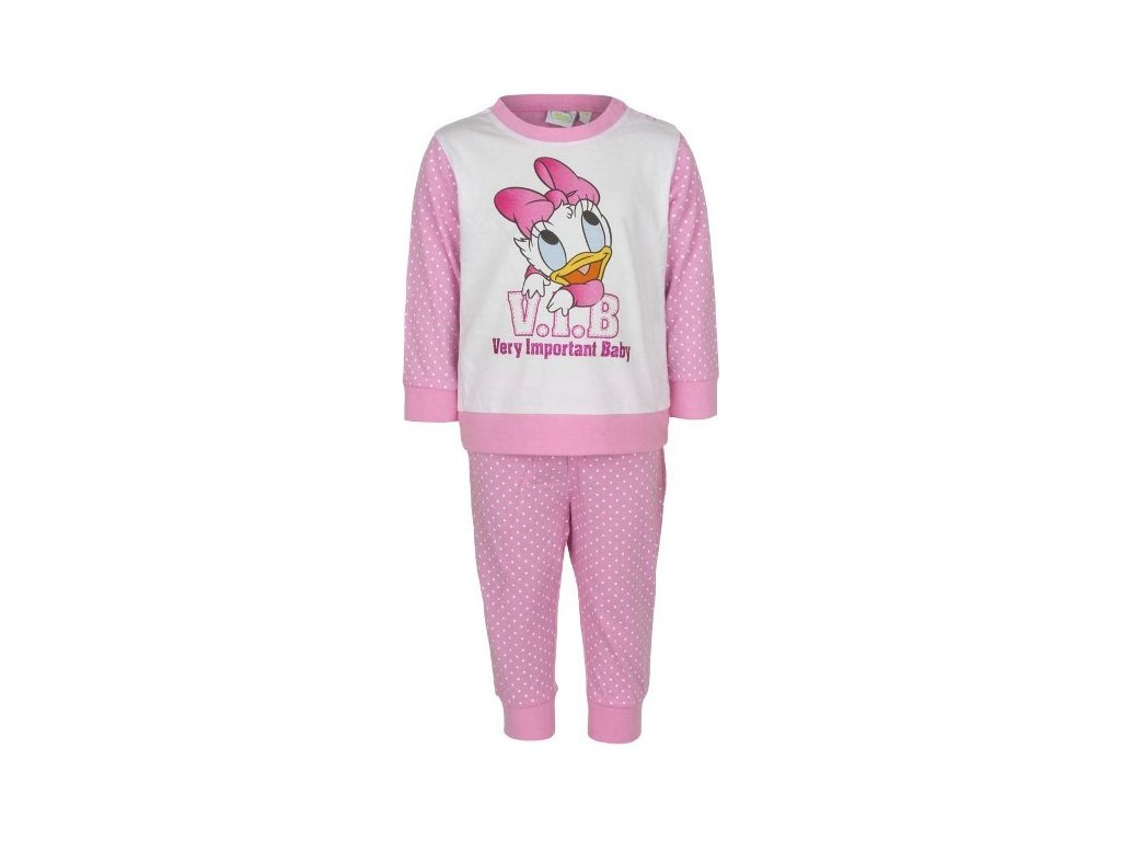 f104ca20e92d Kojenecké pyžamo   dětské pyžamo Disney Baby bavlna světle růžové ...
