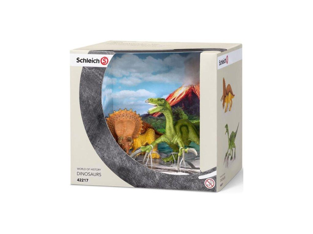 Schleich Dinosauři Triceratops a Therizinosaurus