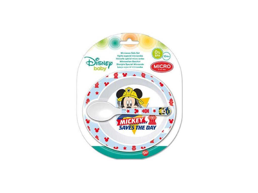 Jídelní sada Mickey Baby