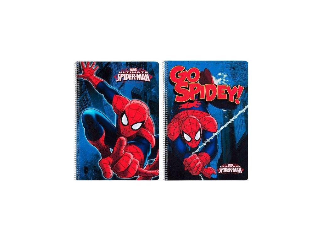 Sešit Spiderman
