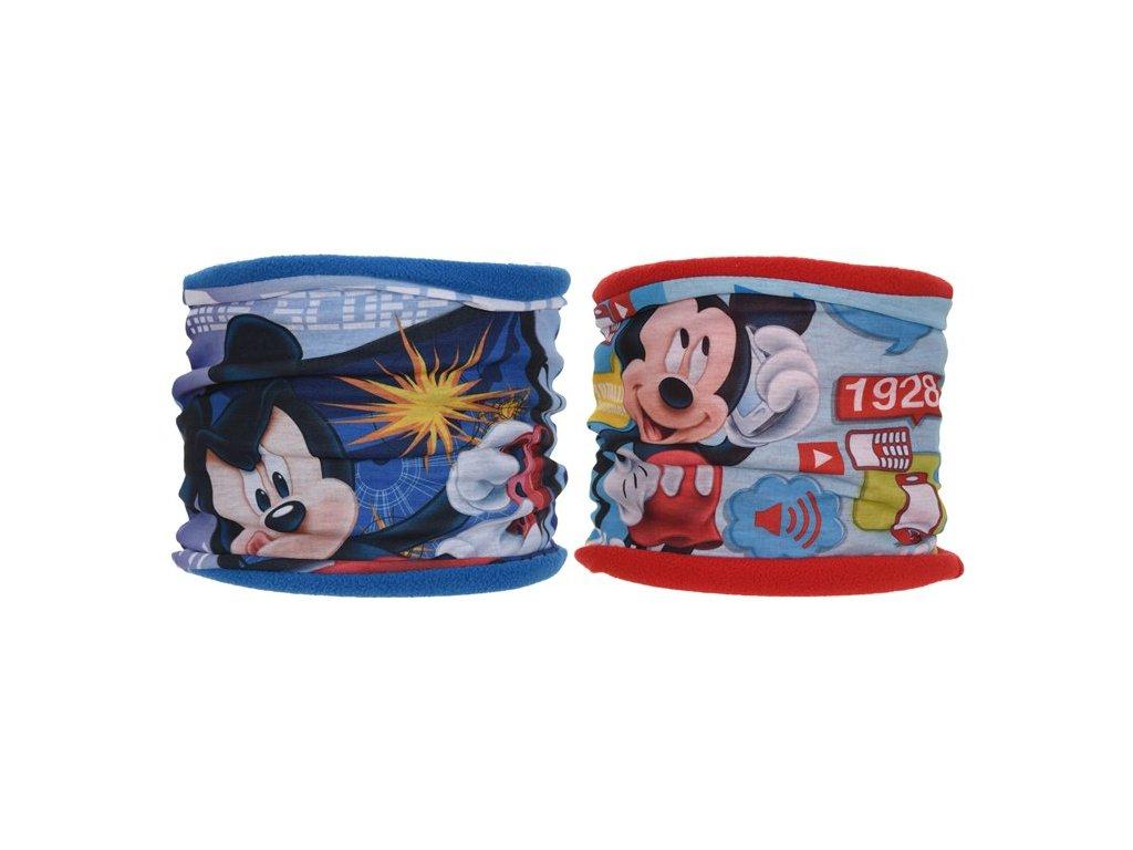Šála nákrčník Mickey Mouse