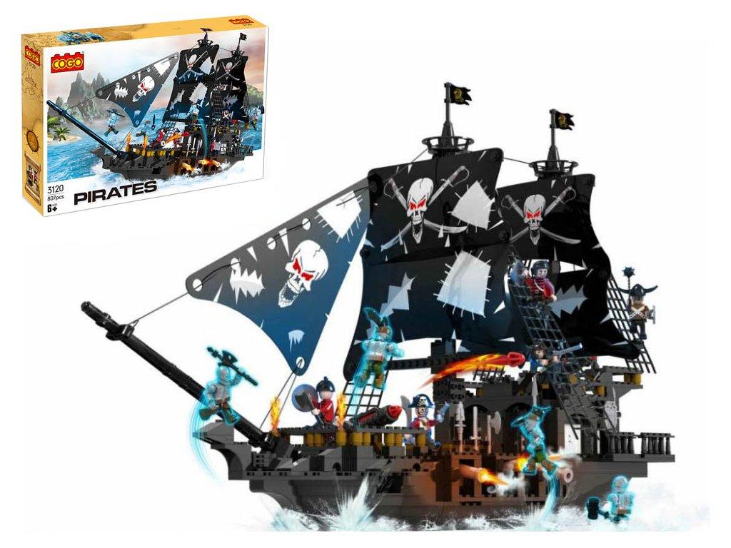 Lego stavebnice Pirátská loď