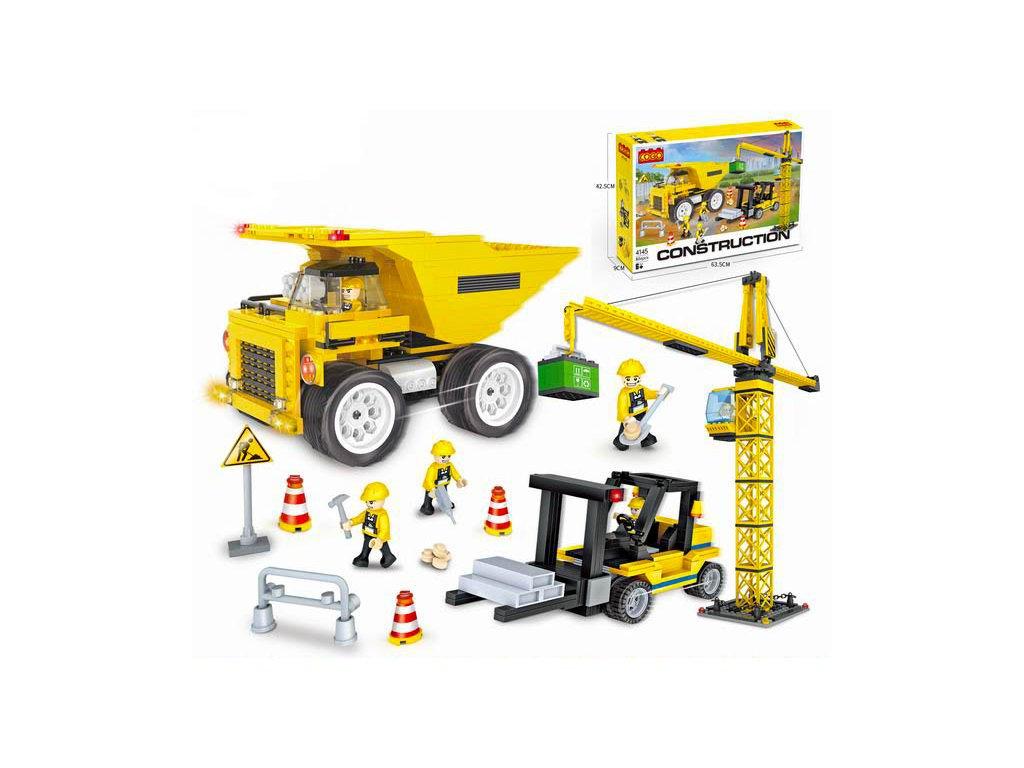Lego stavebnice jeřáb