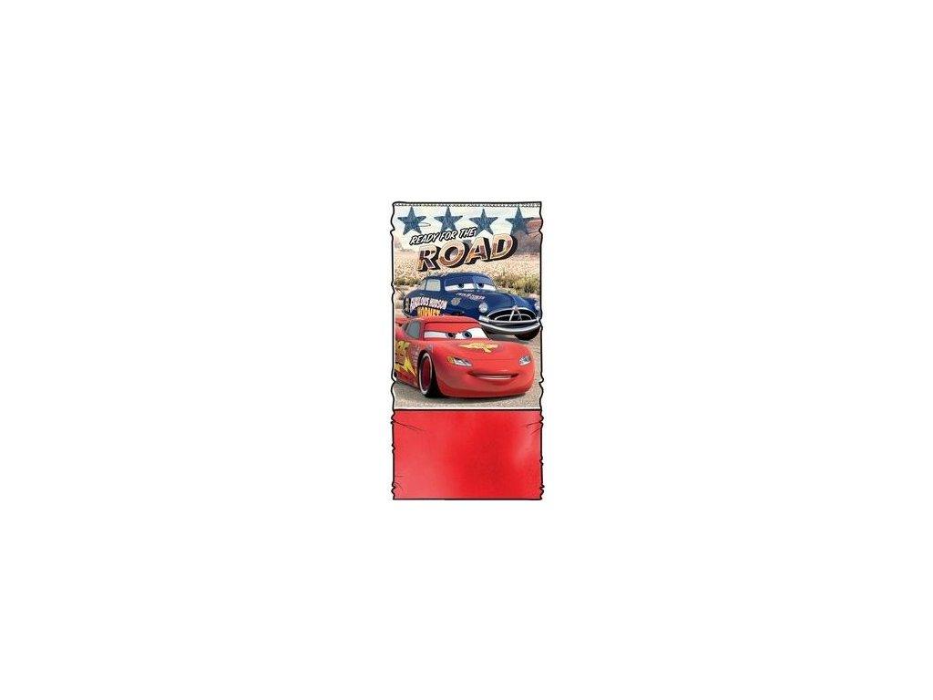 Šála Cars   nákrčník Cars červený zateplený  9c6b5a0112
