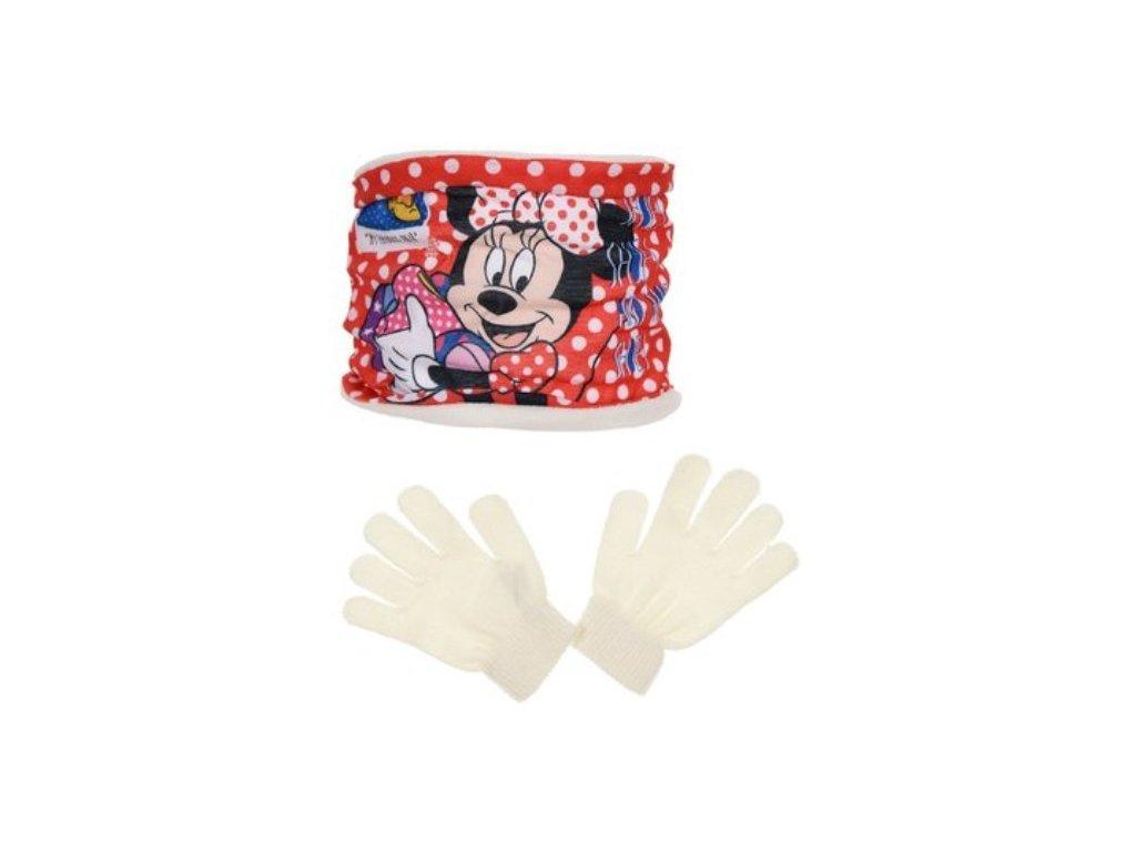 Šála nákrčník rukavice Minnie