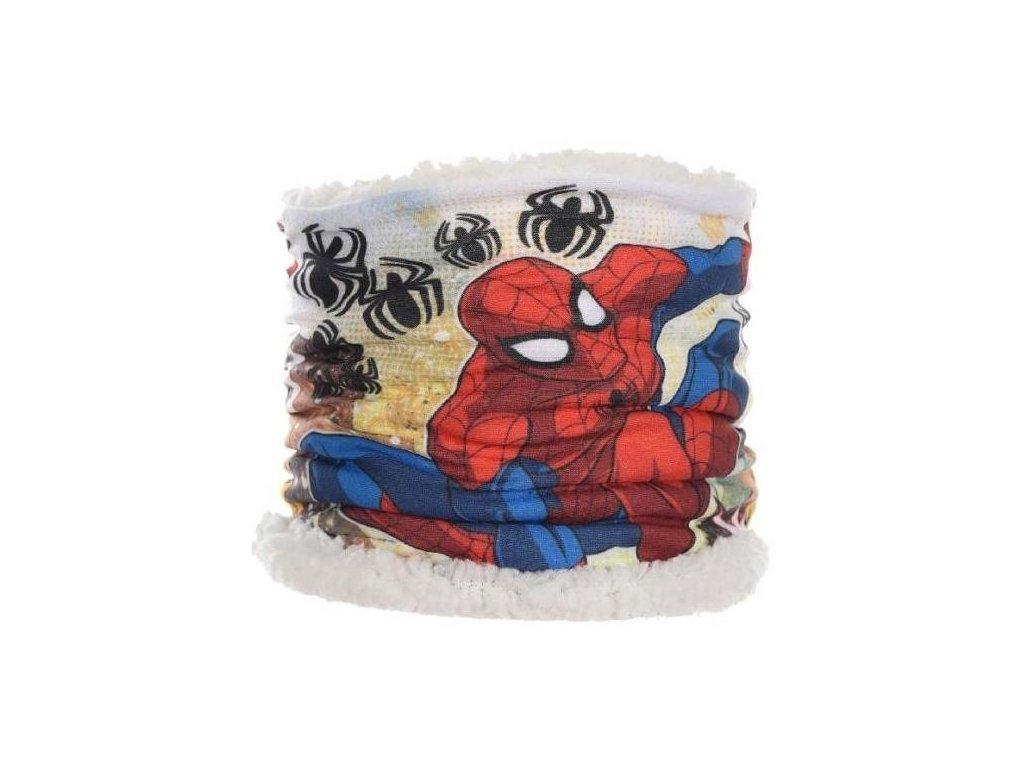 Šála nákrčník Spiderman