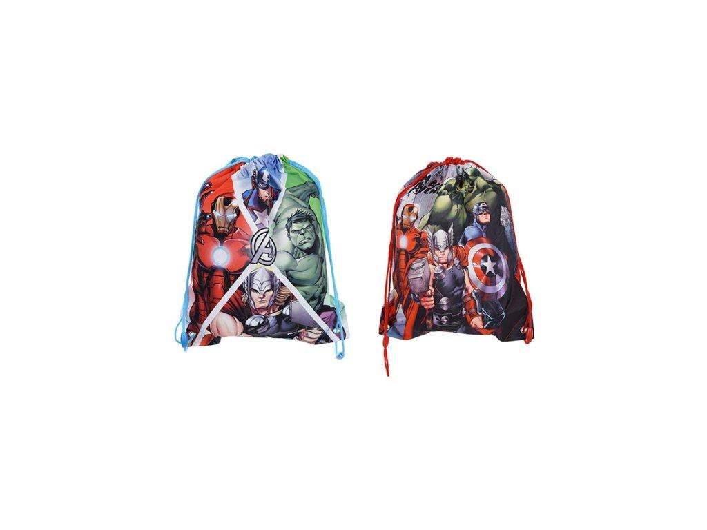 Sáček na přezůvky batůžek Avengers