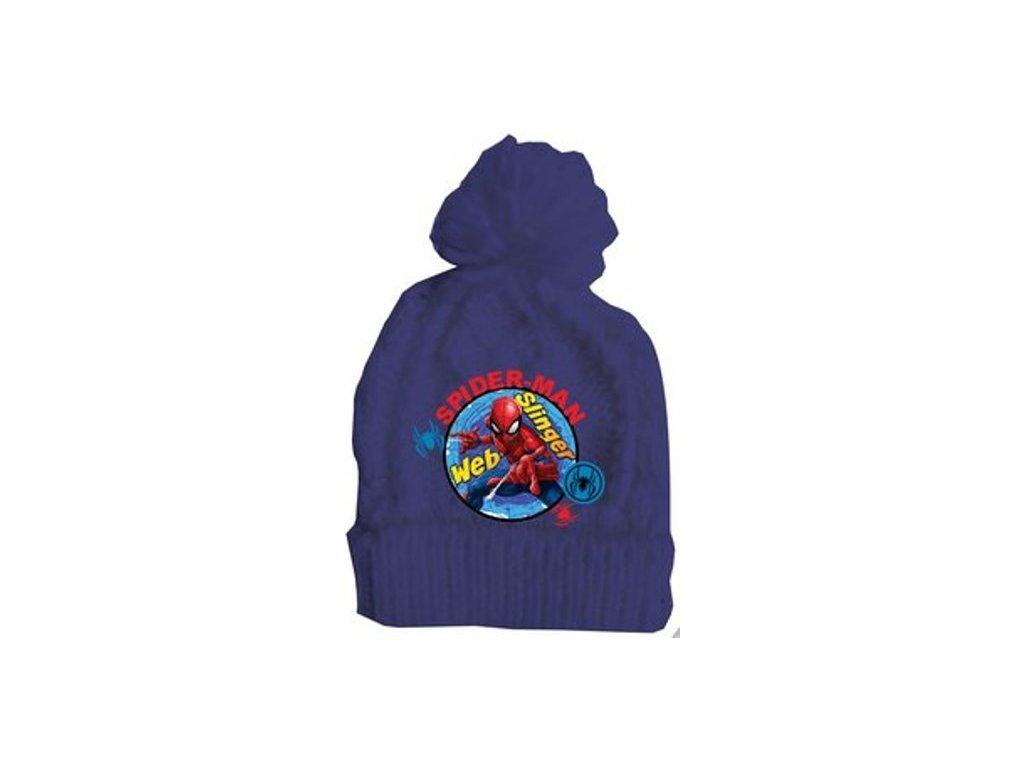 Kulich čepice Spiderman