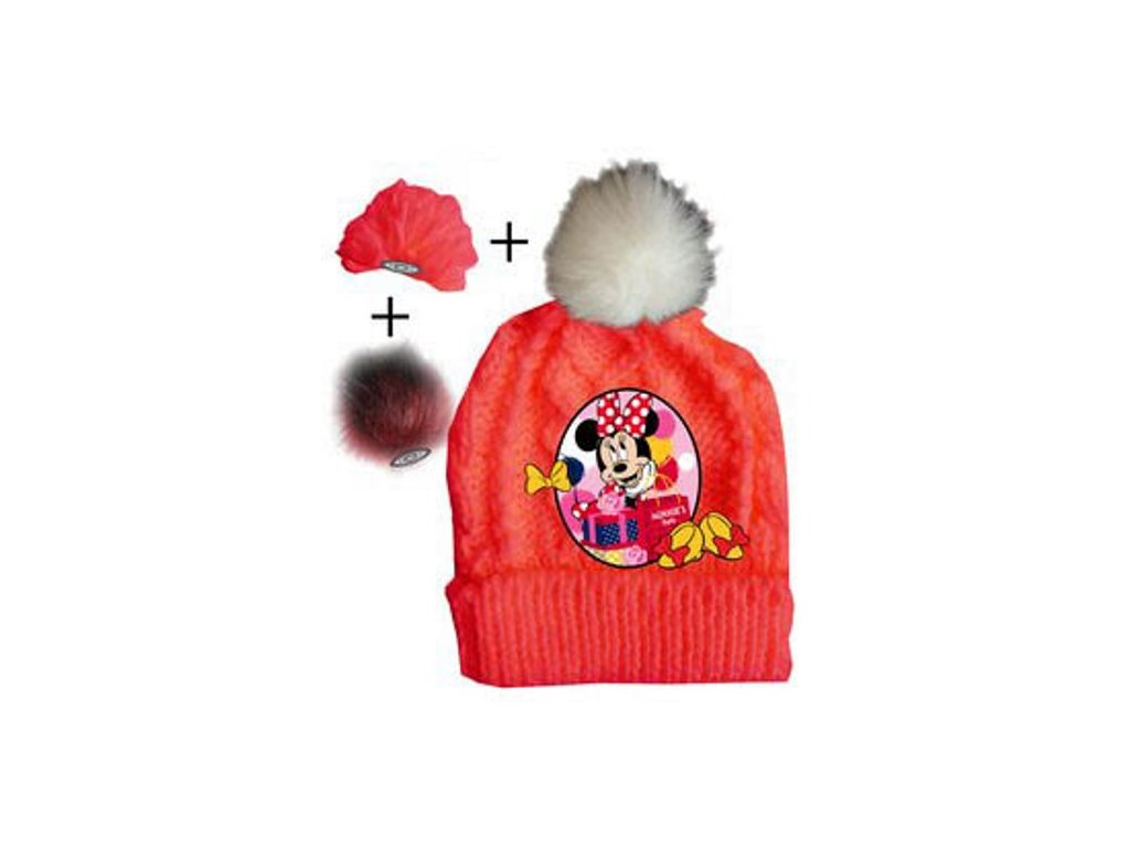 Kulich čepice Minnie