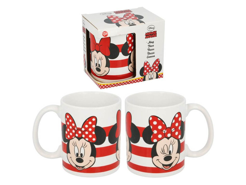 Keramický hrnek Minnie Mouse