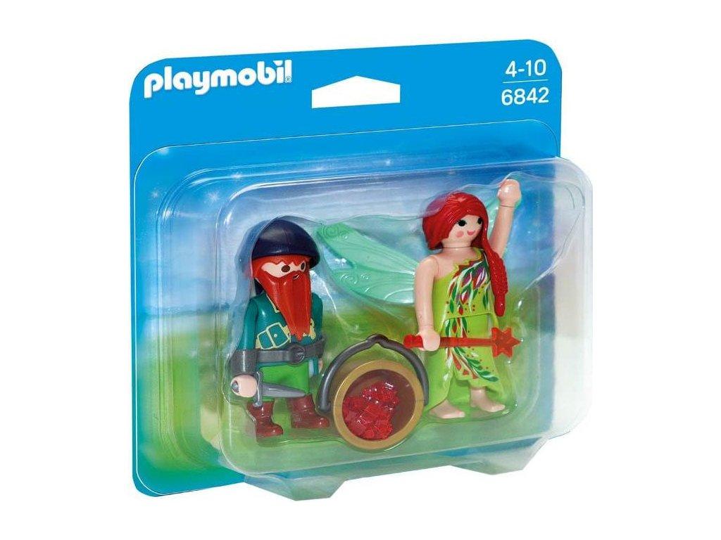 Playmobil 6842 Víla a trpaslík