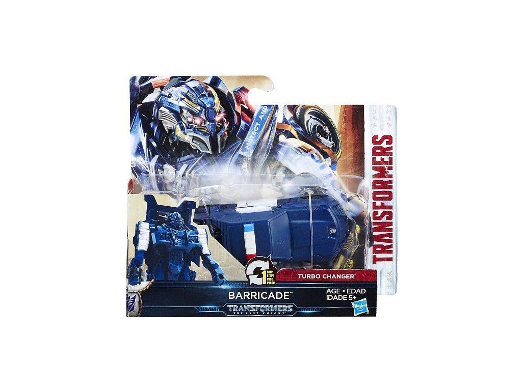 Figurka Transformers Turbo transformace Barricade