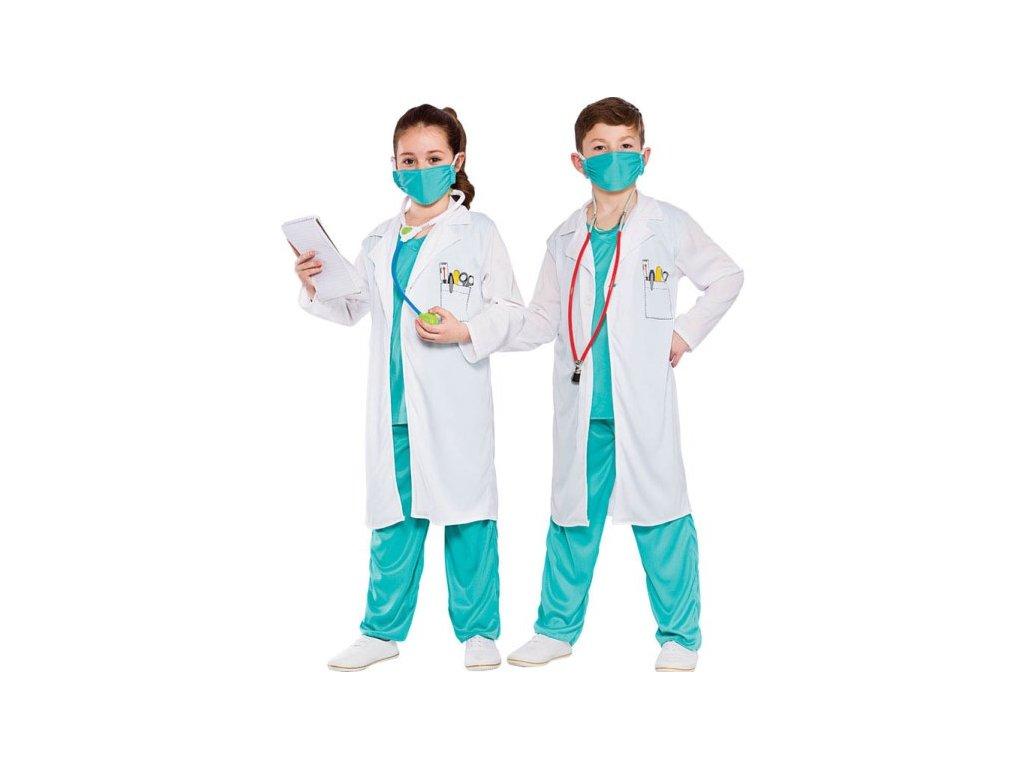Dětský kostým doktor doktorka