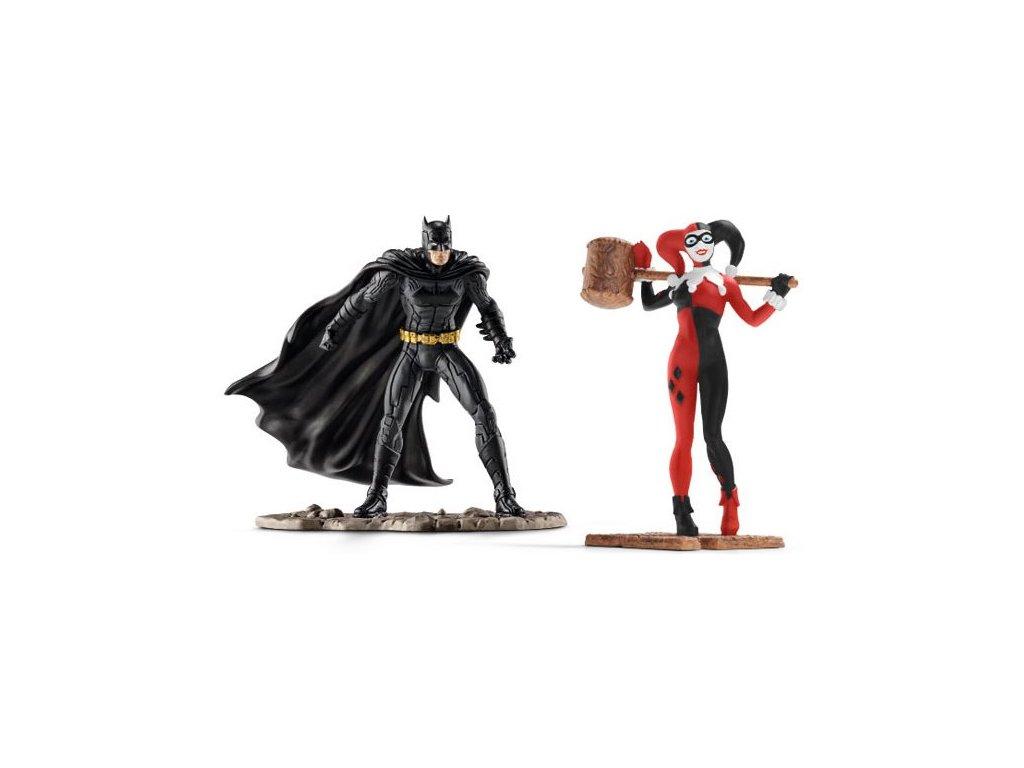 Schleich Justice League Batman a Harley Quinn 22514
